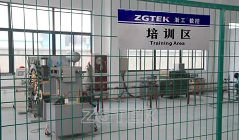 ZGTEK training area